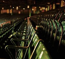 Bostons Fenway Park Baseball Vintage Seats by BritishYank
