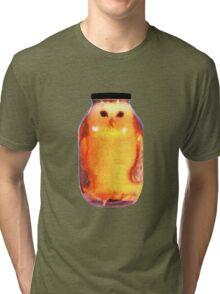 Big Pickled Pet Owl Tri-blend T-Shirt