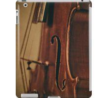 Violin Profile iPad Case/Skin