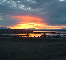 Lake Pueblo Sunset by Thorius