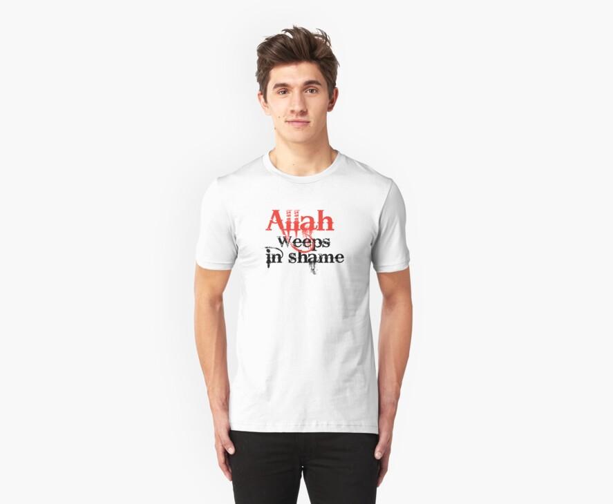 Allah weeps in shame by GodsInformation