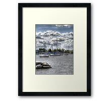 Sail boats Framed Print