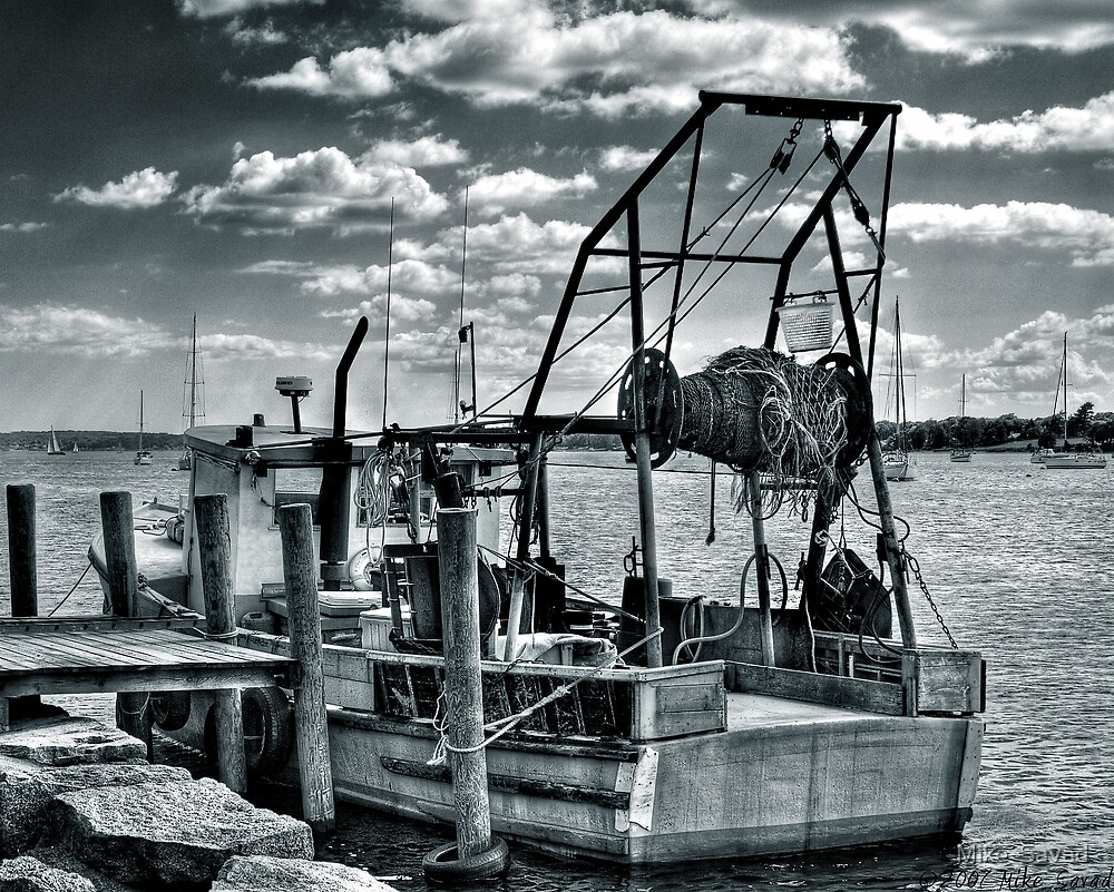 The Fishing Boat by Mike  Savad