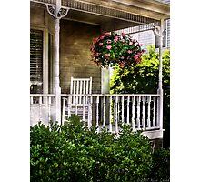 Porch Detail Photographic Print