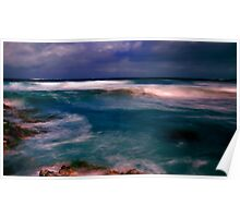An extremly stormy Sunset........ Poster