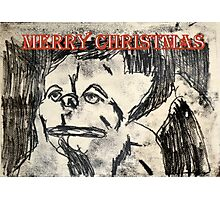 Merry Christmas Lawrence Photographic Print