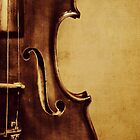 Violin Portrait by Kadwell