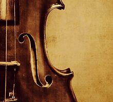 Violin Portrait by Kadwell