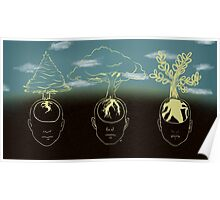 3 Stages- Planting Trees Poster
