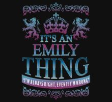 it's an EMILY thing by RooDesign