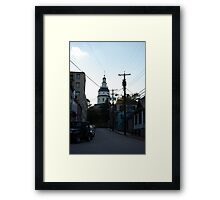 Old Towne Annapolis  Framed Print