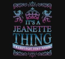 it's a JEANETTE thing by RooDesign
