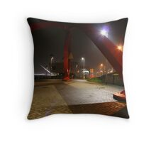 The Steel Sculpture Throw Pillow