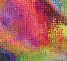 """Dreamscape No.2"" original abstract artwork by Laura Tozer Sticker"