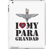 I LOVE MY PARA GRANDAD  iPad Case/Skin