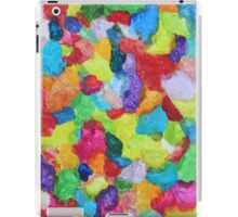 """Magical Gathering"" original abstract artwork by Laura Tozer iPad Case/Skin"