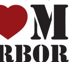 I LOVE MY AIRBORNE DAD Sticker