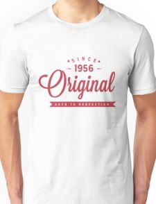 Since 1956 Original Aged To Perfection Unisex T-Shirt