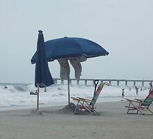 Beach Umbrellla by Kimberly D. Allen