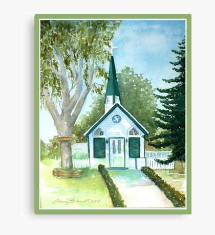 The Little Chapel Canvas Print