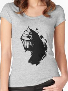 Frosting Monster Women's Fitted Scoop T-Shirt
