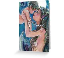 Love in the moonlight Greeting Card