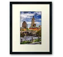The Skyline Framed Print