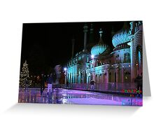 Christmas in Brighton 3 Greeting Card