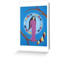 Four Colors Greeting Card
