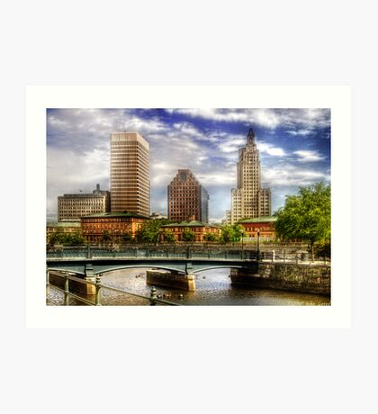 Downtown Providence Art Print
