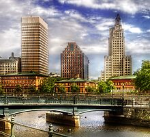 Downtown Providence by Mike  Savad