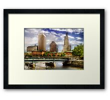 Downtown Providence Framed Print