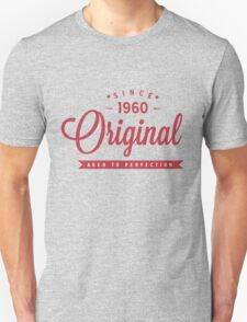 Since 1960 Original Aged To Perfection T-Shirt