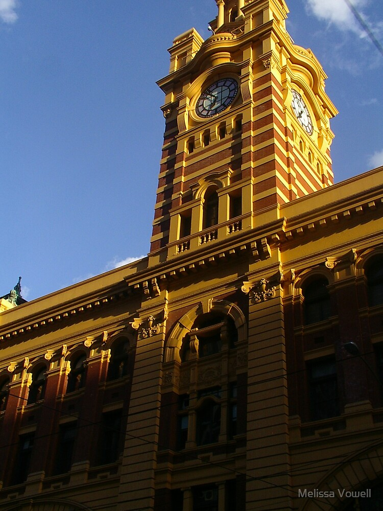 Flinders Street Station by Melissa Vowell