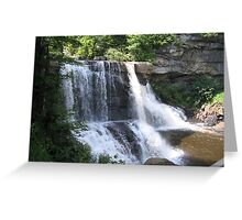 Blackwater Falls State Park Greeting Card