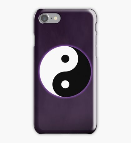 Ying Yang Colored Case-Purple iPhone Case/Skin