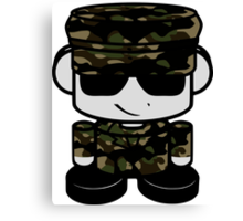 Army Hero'bot 1.0 Canvas Print