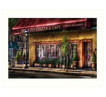 Brick Oven Cafe Art Print