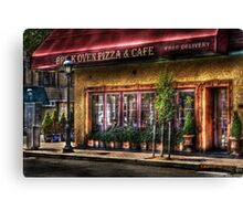 Brick Oven Cafe Canvas Print