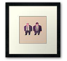 Gordon and Bullock Framed Print
