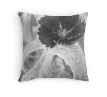 Dark Texture Throw Pillow