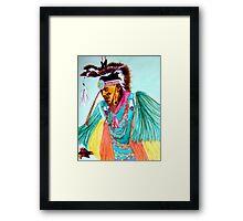 Grass Dancer Framed Print