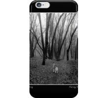 Facing Your Fears Poster iPhone Case/Skin