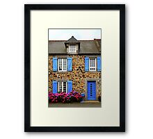Country house in Brittany, France Framed Print