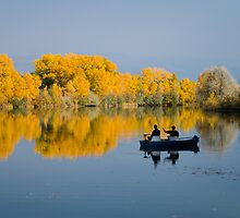 Autumn on the Lake by bluerabbit