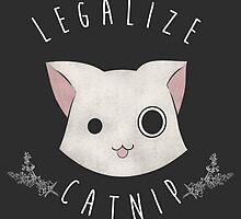 Legalize Catnip (Sticker) by LiRoVi