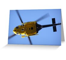 Rescue 1 Greeting Card