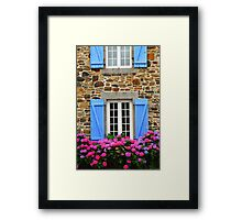 Country house in Brittany Framed Print