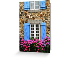 Country house in Brittany Greeting Card