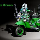 Vespa PX 125 Pretty Green by tonynewland